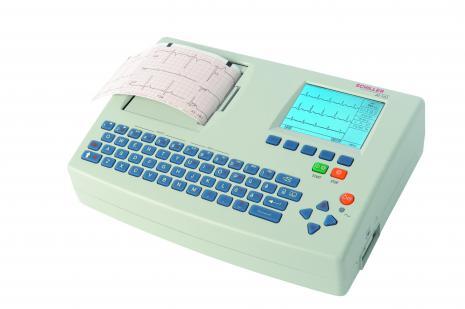 Schiller CARDIOVIT AT-101 Interpretive ECG Machine with Thrombolysis Recommendation Software