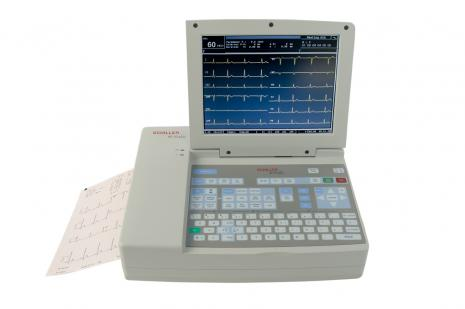 Schiller CARDIOVIT AT-10plus Interpretive ECG Machine