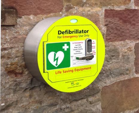 Stainless Steel Defibrillator Cabinet