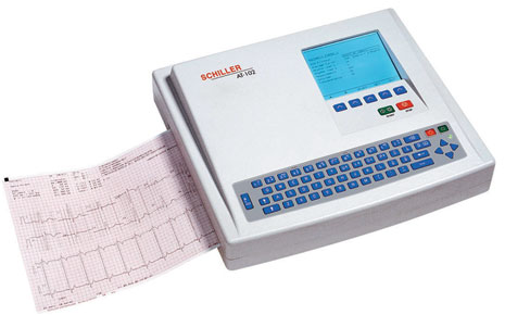 Schiller CARDIOVIT AT-102 Interpretive ECG Machine