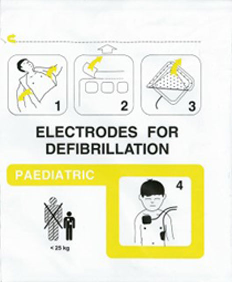 Schiller Fred Defibrillation Electrode Child