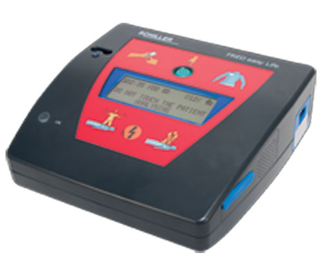 Schiller FRED Easy Life Fully-Automatic Defibrillator