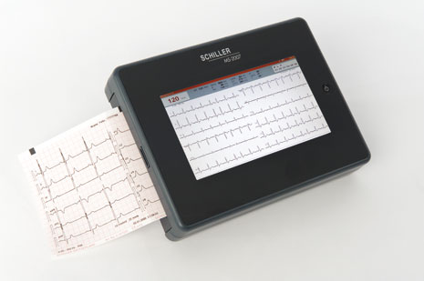Schiller CARDIOVIT MS-2007 Interpretive ECG Machine