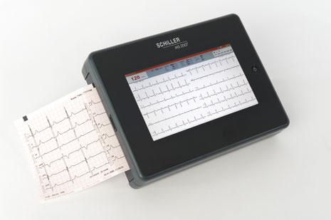 Schiller CARDIOVIT MS-2007 Interpretive ECG Machine