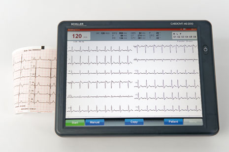 Schiller CARDIOVIT MS-2010 Interpretive ECG Machine