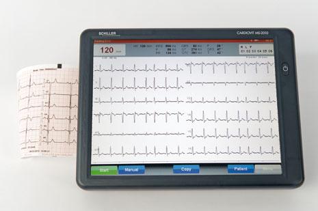 Schiller CARDIOVIT MS-2010 Interpretive ECG Machine